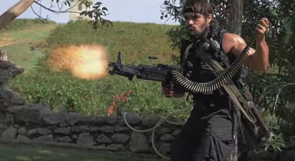 Película Commando Ninja