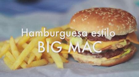 receta bigmac