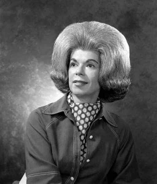 Aquellos maravillosos peinados de los años 60. Galería de imágenes graciosas. 9
