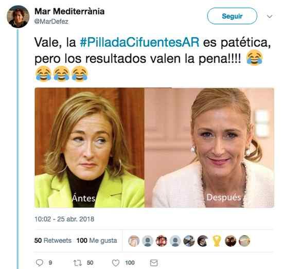 Top 10 los mejores memes del robo de Cristina Cifuentes. 7