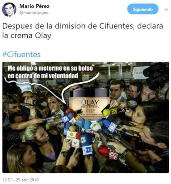 Top 10 los mejores memes del robo de Cristina Cifuentes. 8