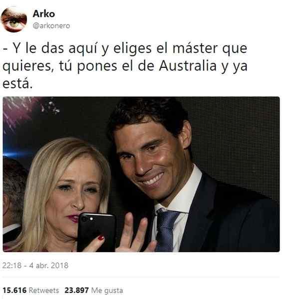 Memes de Cristina Cifuentes y su Máster. Los 10 mejores memes. 13