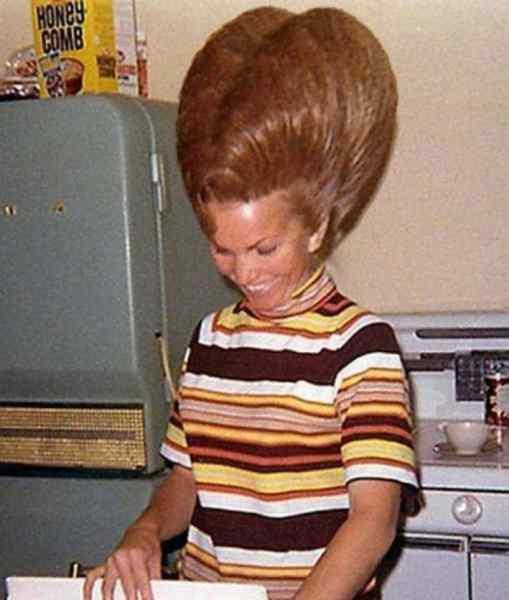Aquellos maravillosos peinados de los años 60. Galería de imágenes graciosas. 11