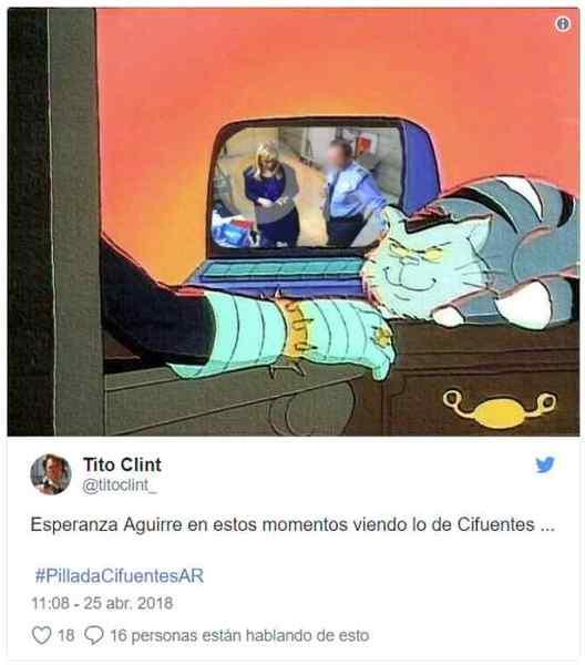 Top 10 los mejores memes del robo de Cristina Cifuentes. 5