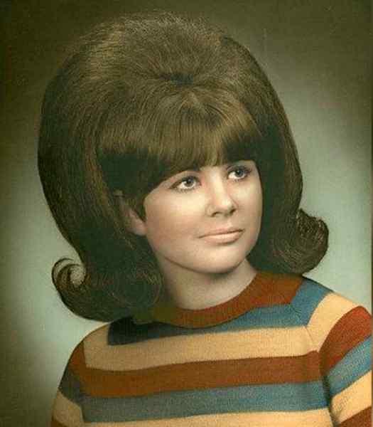 Aquellos maravillosos peinados de los años 60. Galería de imágenes graciosas. 12