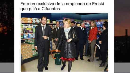 Top 10 los mejores memes del robo de Cristina Cifuentes. 4