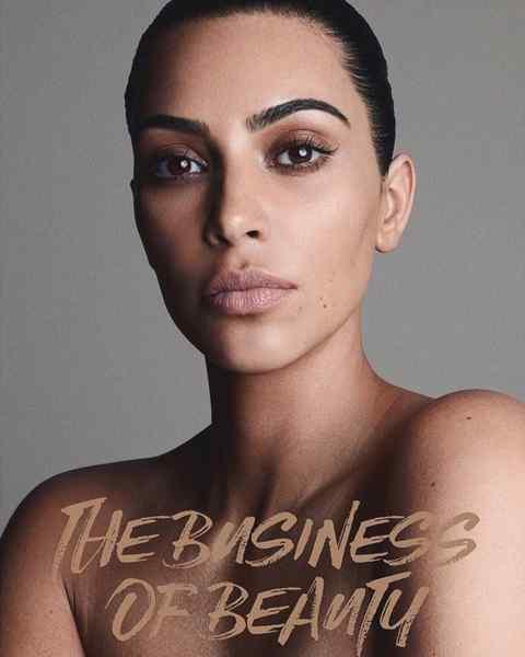 Kim Kardashian, sus fotos desnuda para promocionar su nuevo perfume. 1