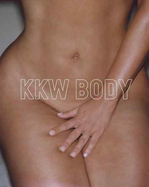 Kim Kardashian, sus fotos desnuda para promocionar su nuevo perfume. 4