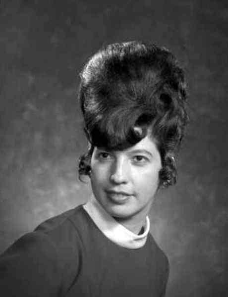 Aquellos maravillosos peinados de los años 60. Galería de imágenes graciosas. 3