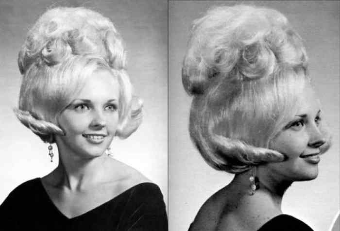 Aquellos maravillosos peinados de los años 60. Galería de imágenes graciosas. 4