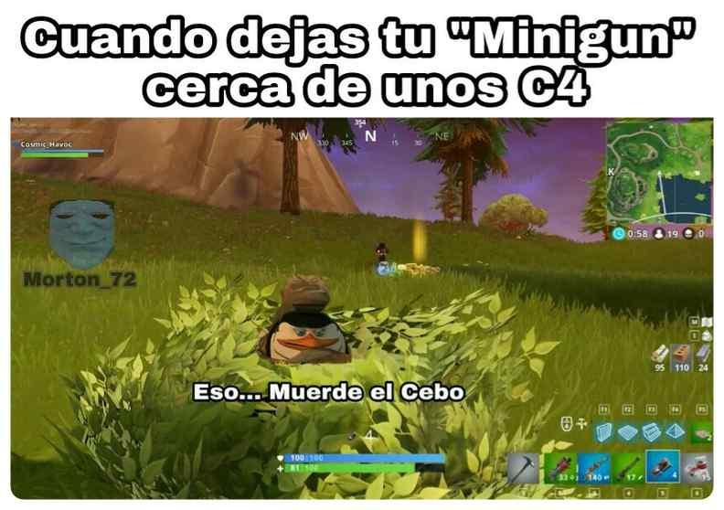 Memes Fortnite en Español, los mejores memes de fortnite. 4