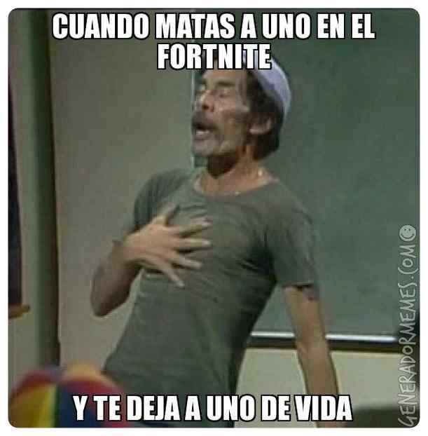 Memes Fortnite en Español, los mejores memes de fortnite. 5
