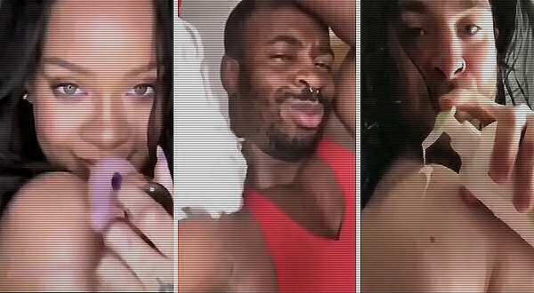 vídeo de risa con Rihanna
