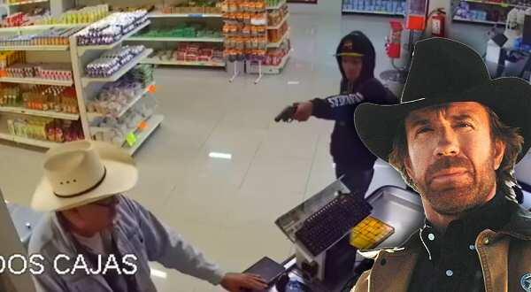 vídeo cliente evita el robo