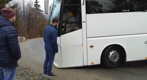 accidente de un autobús