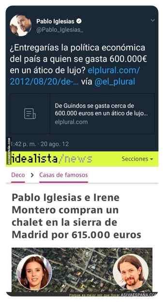 memes chalet pablo iglesias 11 - TOP 10 memes del chalet de Pablo Iglesias e Irene Montero