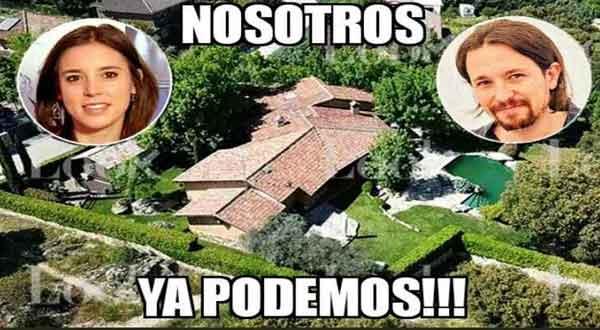 TOP 10 memes del chalet de Pablo Iglesias e Irene Montero 4