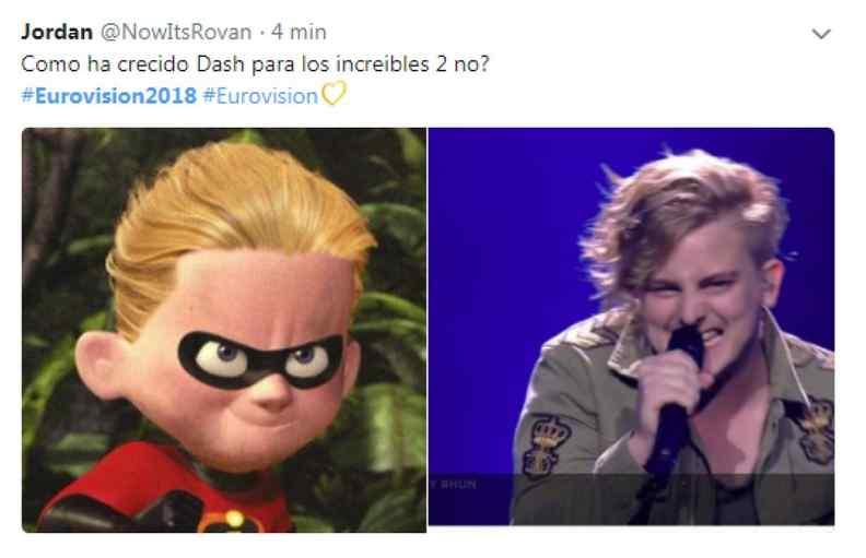memes de eurovisión