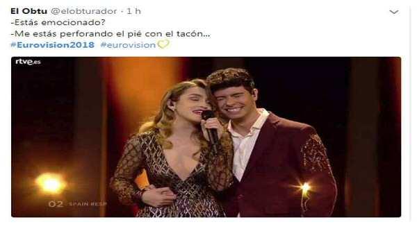 Los mejores memes de Eurovisión 9