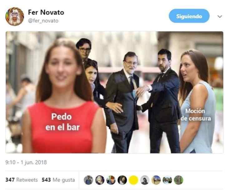 memes rajoy 05 - Memes moción de censura. Top10 con los mejores.