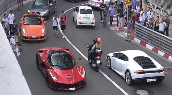 vídeos de coches, deportivos por Monaco