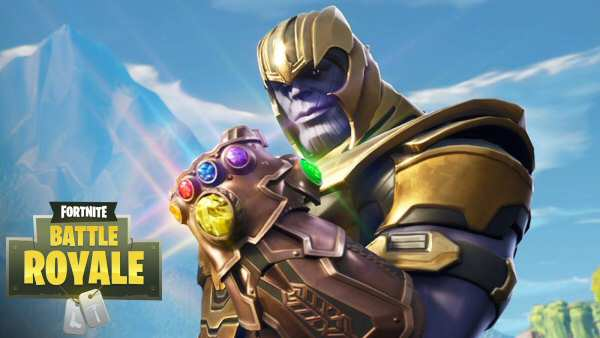 vídeo de thanos en fortnite