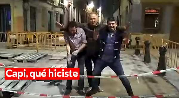 El vídeo de capi
