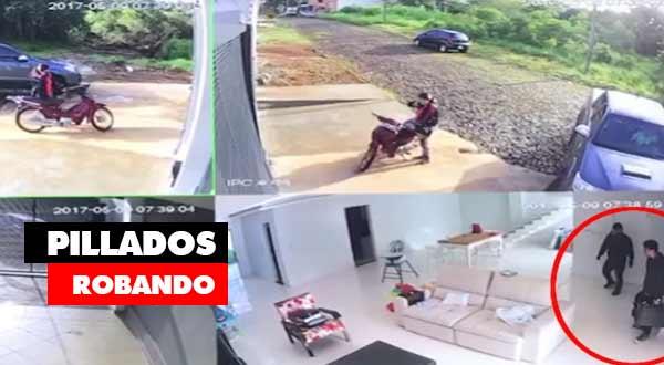 vídeos impactantes de robos