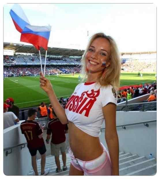 chicas en el mundial de rusia 09 - Las chicas del mundial de fútbol de Rusia 2018