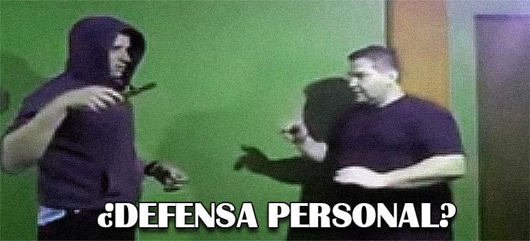 vídeo aprender a defenderte ante un ataque con cuchillo