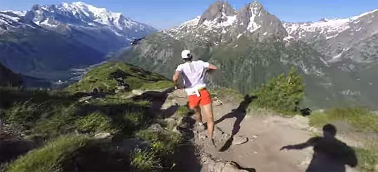 vídeo del maratón mont blanc