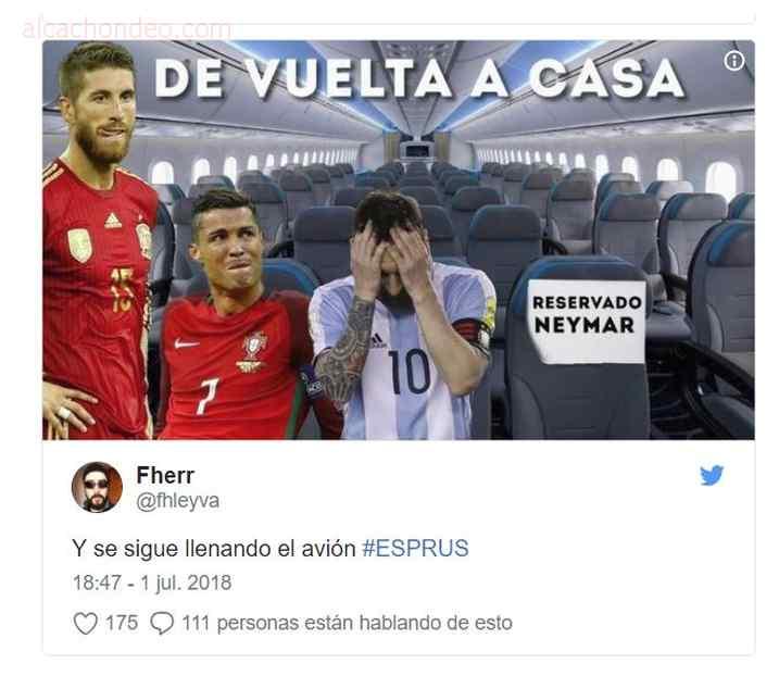 memes de españa 6 - Top 10 los mejores memes de la eliminación de España.