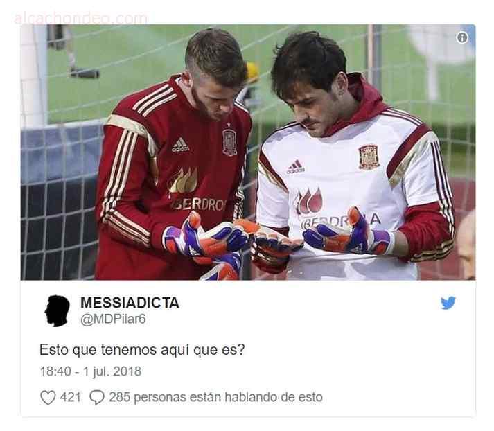 memes de españa 8 - Top 10 los mejores memes de la eliminación de España.
