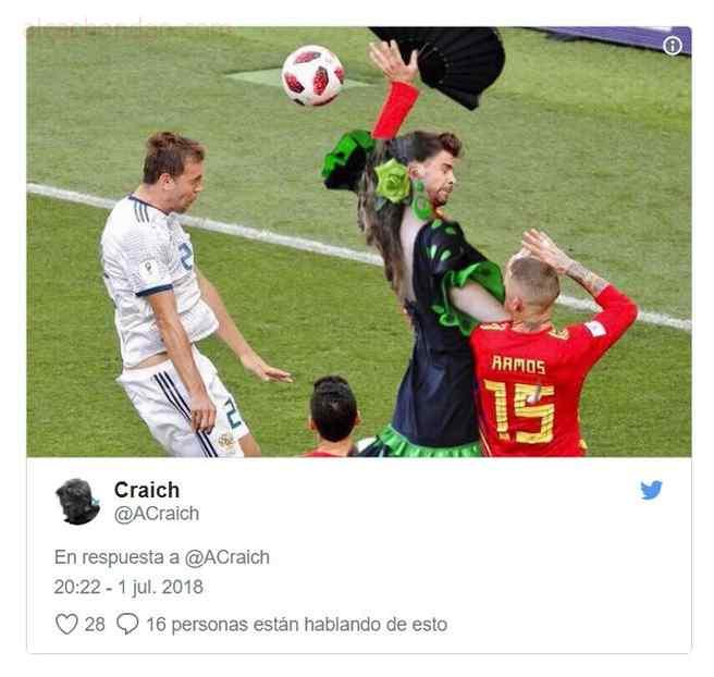 memes de españa 9 - Top 10 los mejores memes de la eliminación de España.