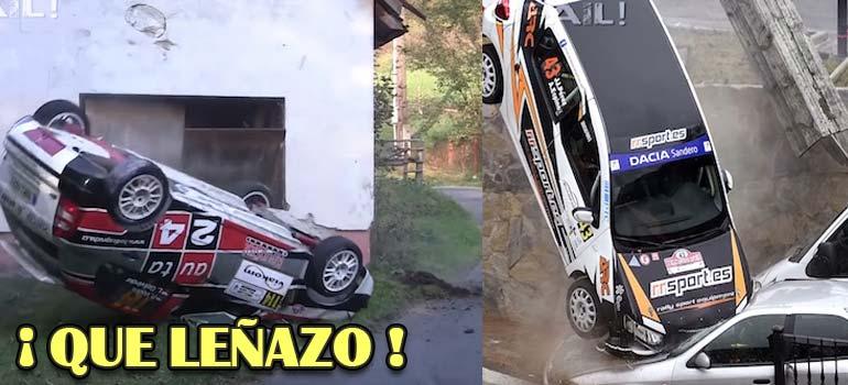 Impactantes accidentes ocurridos en rallys y carreras