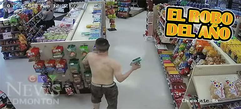 Vídeo de risa de unos ladrones