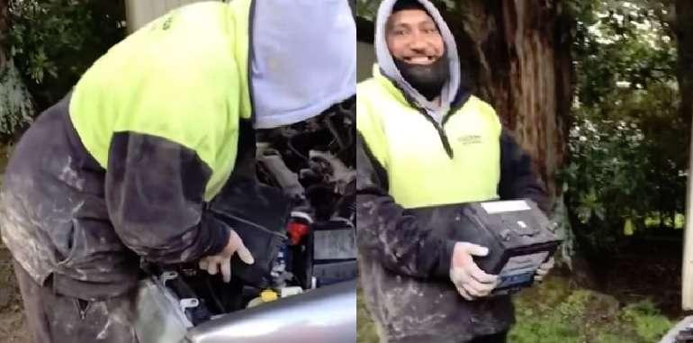 Cómo arrancar el coche si no tienes unas pinzas