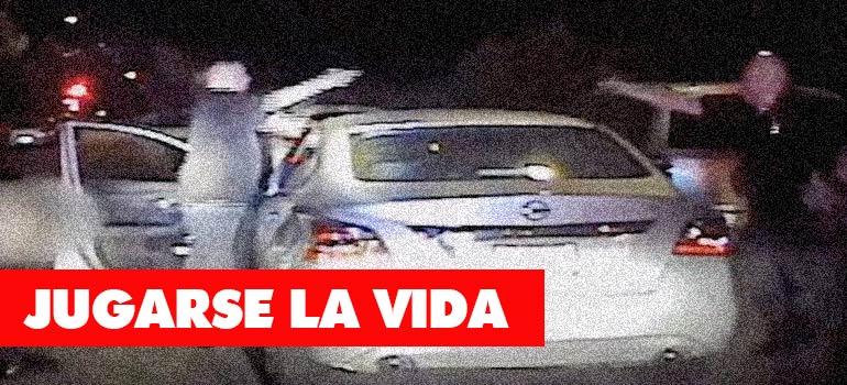 Impactante vídeo grabado por la policía