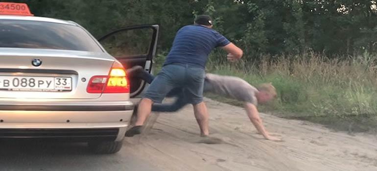 el vídeo del taxista ecologista.