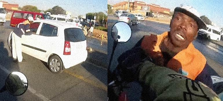 Vídeo de un robo en las calles de Sudáfrica