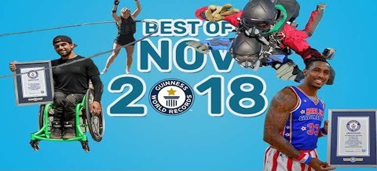 Los mejores récords Guinness del mes de noviembre 2018. 9