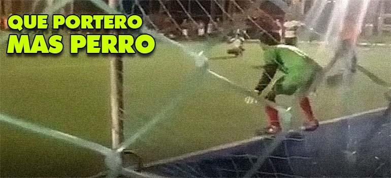 No te pierdas lo que ocurre al tirar un penalti en este partido de fútbol. 2
