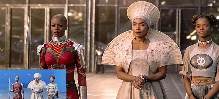 Los efectos especiales en Black Panther. 4