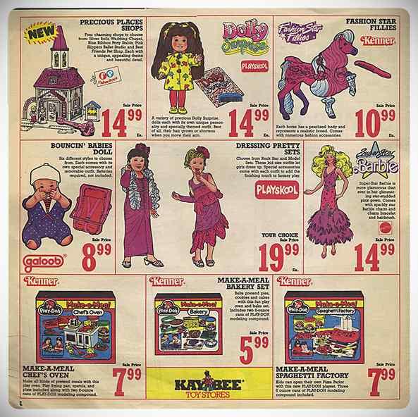 ¿Cuales eran los juguetes de moda en los años 80 y 90? 5