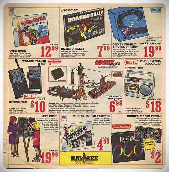 ¿Cuales eran los juguetes de moda en los años 80 y 90? 8