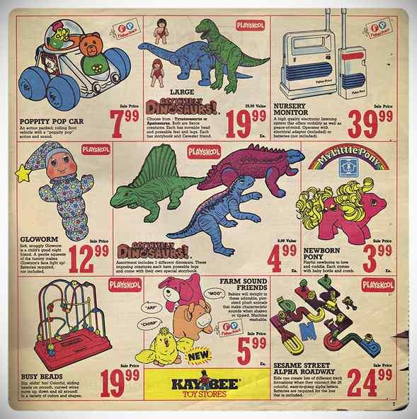 ¿Cuales eran los juguetes de moda en los años 80 y 90? 9