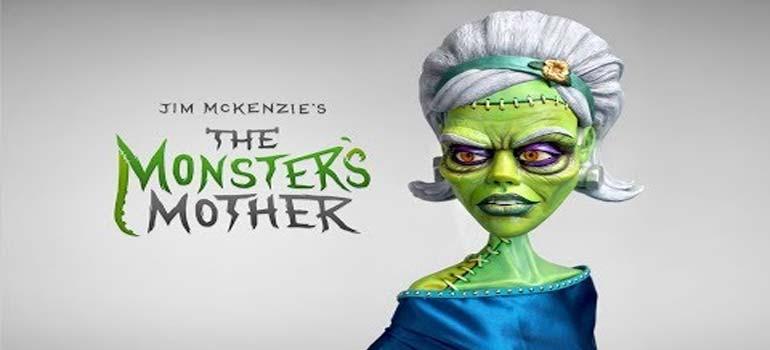 The Monster's Mother, hasta parece fácil hacer esta escultura. 5