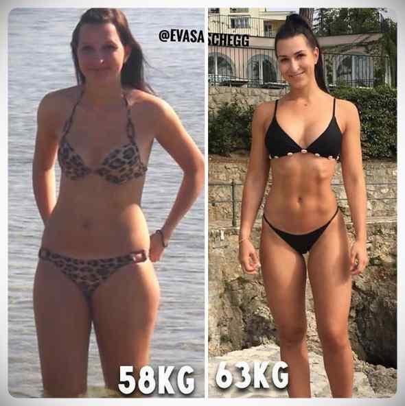 No siempre perder kilos es sinónimo de estar mas delgada, atento a estas fotos... 16