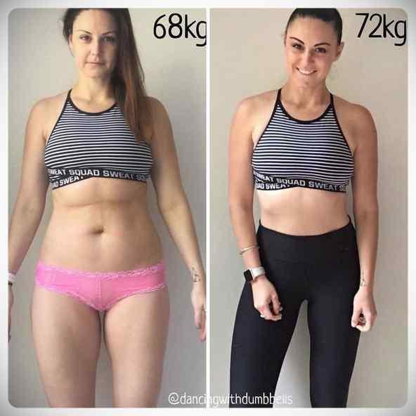 No siempre perder kilos es sinónimo de estar mas delgada, atento a estas fotos... 4