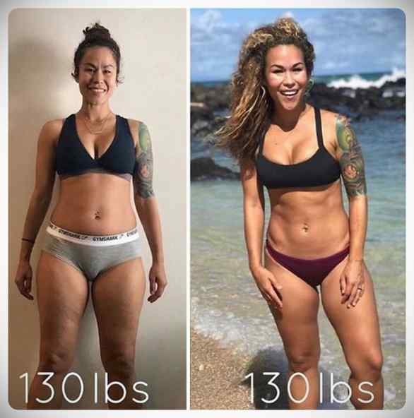 No siempre perder kilos es sinónimo de estar mas delgada, atento a estas fotos... 5